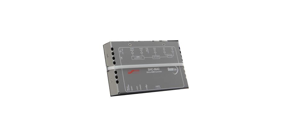 3G/HD/SH SDI to HDMI converter