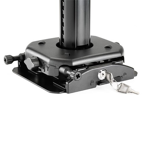 "Suspended Ceiling Projector System 0-12"", Black"