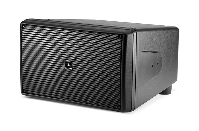 "Dual 10"" Compact Subwoofer, Black"