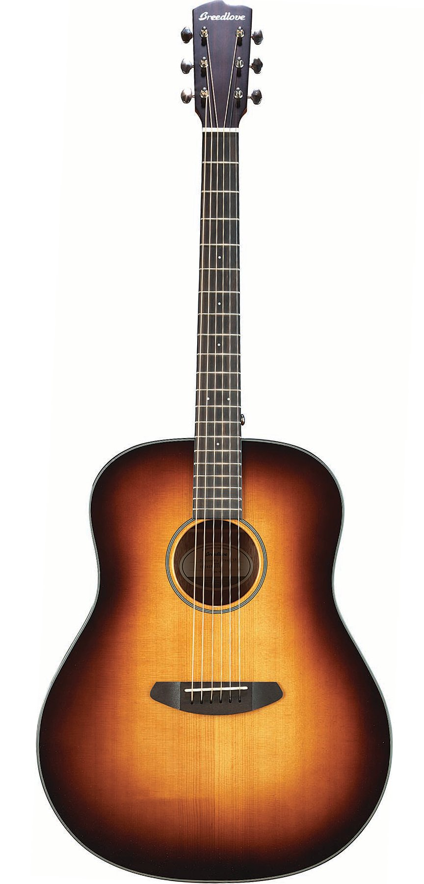 Acoustic Guitar with Sunburst Finish