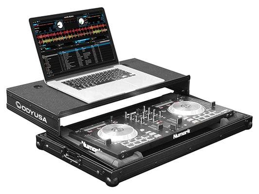 Odyssey FRGSMIXTRACK3BL  Black Label Glide Style Case for Numark Mixtrack 3 / Mixtrack Pro 3 FRGSMIXTRACK3BL