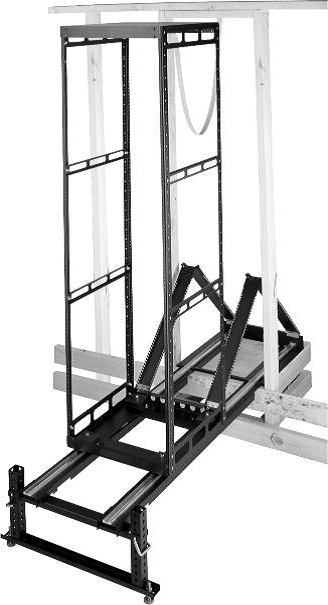 24RU AXS Series Slide-Out Rack