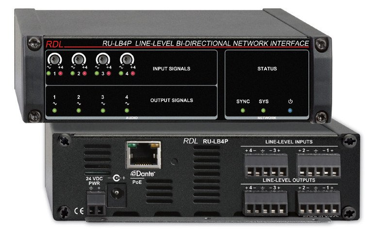 Line-Level Bi-Directional Network Interface