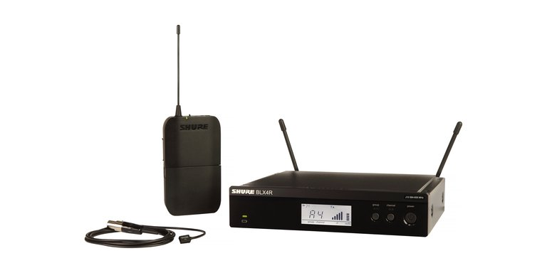 Lavalier Wireless System With WL93 Microphone, 512-542 MHz