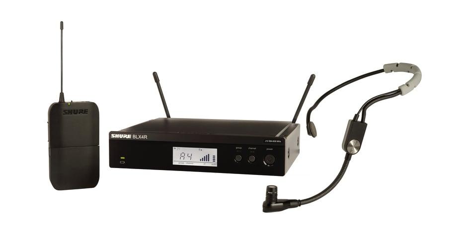 Headworn Wireless System with SM35 Headset Microphone, 512-542 MHz