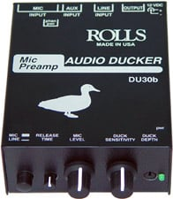 Mic Preamp / Audio Ducker