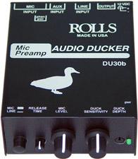 Mic Preamp / Audio Ducker