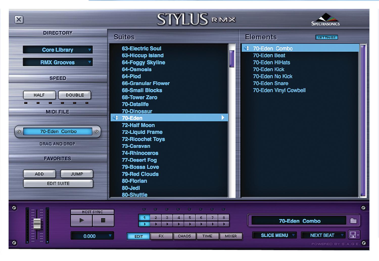 Spectrasonics STYLUS-RMX-XPANDED Stylus RMX Xpanded Software