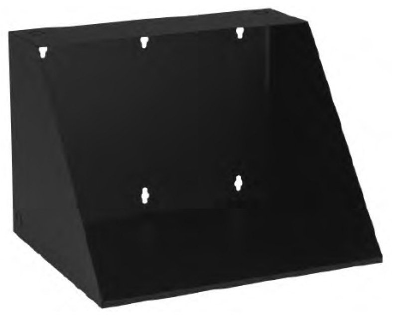 Wall-Mount Shelf, 17-Inches Depth