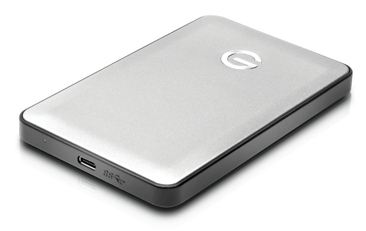 Portable USB-C Drive, 1TB, 7200rpm