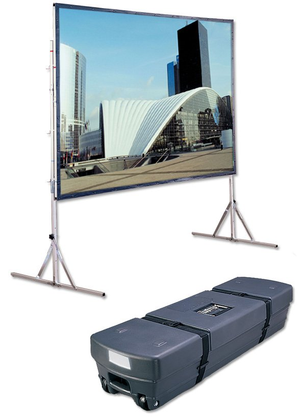"Cinefold 106"" Projection Screen with Standard Legs"