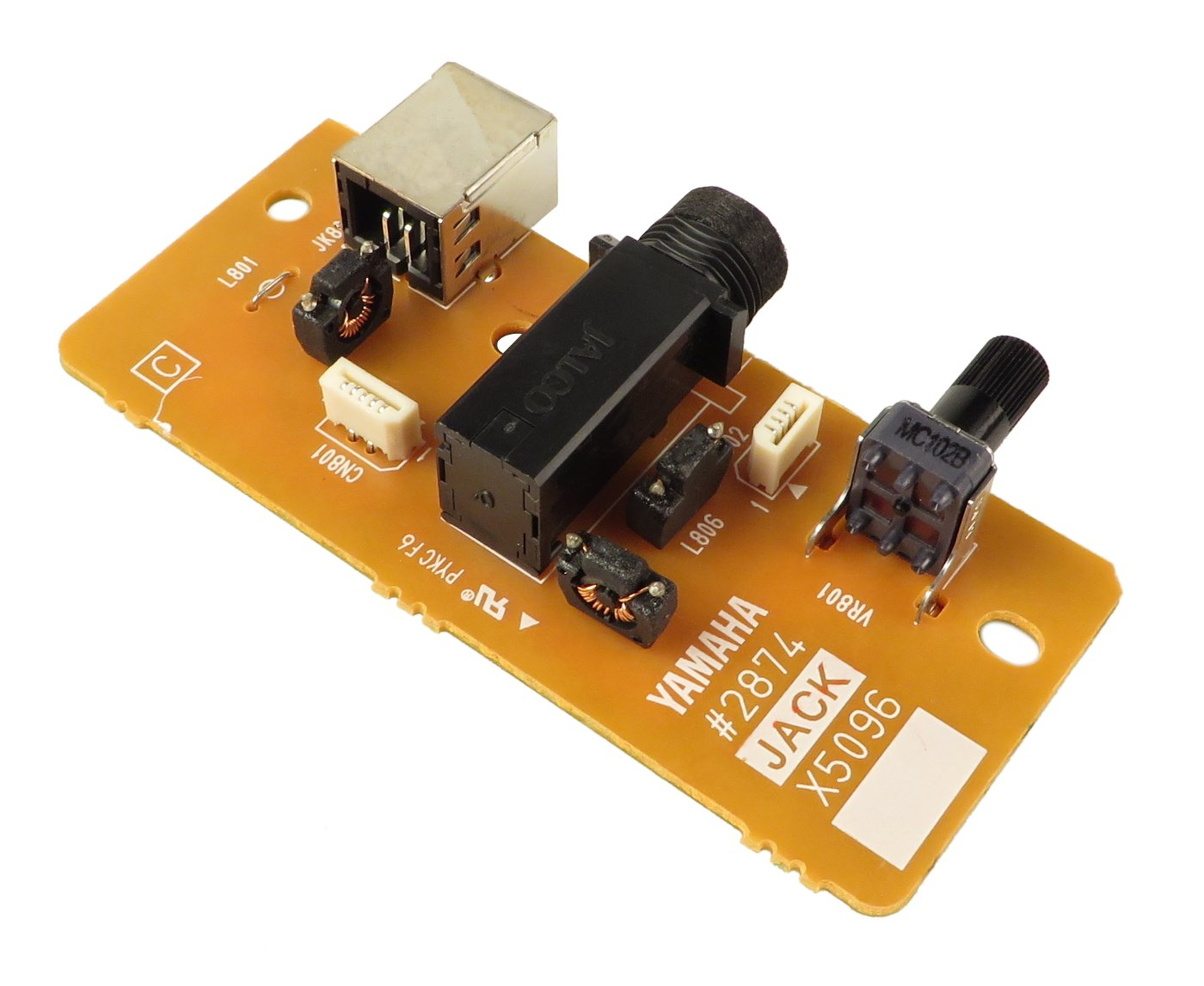 Jack PCB for DGX-505
