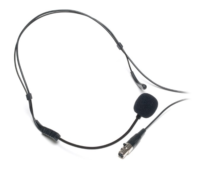 Hyper Cardioiod Condenser Headworn Microphone for CAD Audio Wireless - TA4F Connector