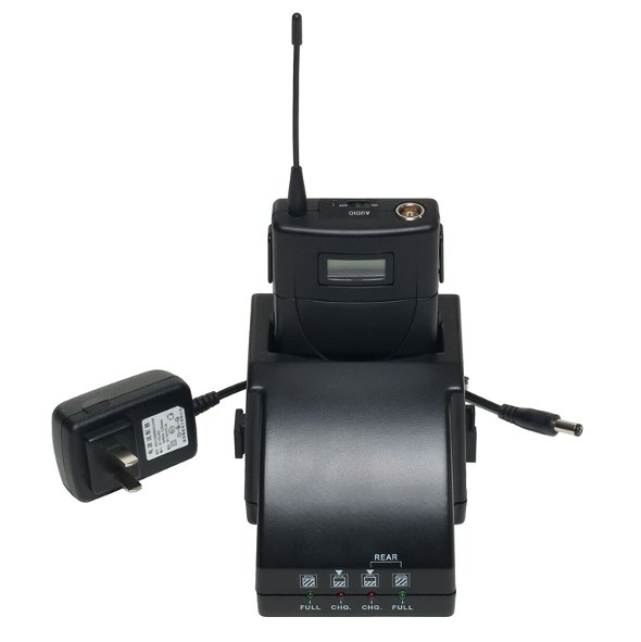 Drop In Battery Charger For WX155 Bodypack Transmitter