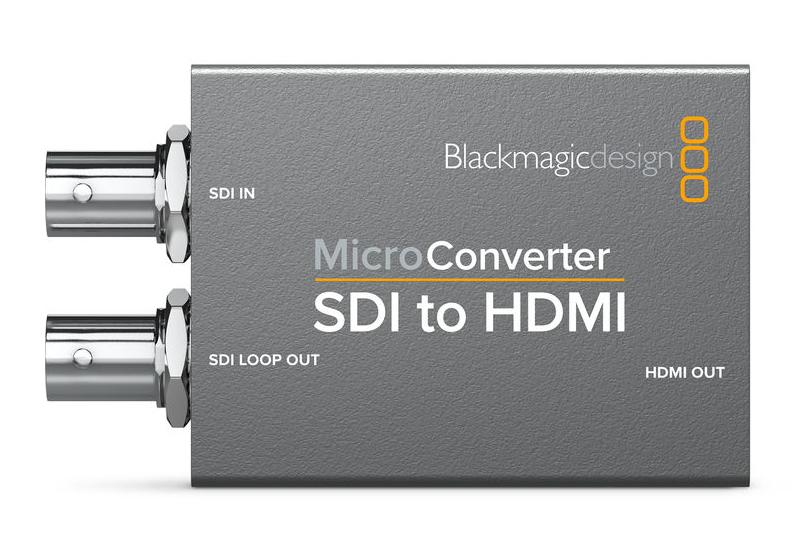 Blackmagic Design CONVCMIC/SH SDI to HDMI Micro Converter (No Power Supply) CONVCMIC/SH