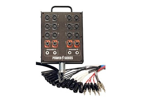 150 ft Medusa Power Series Audio Snake, 16 XLR-F Inputs, No Returns