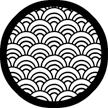 Rosco Laboratories 78404 Fan Grill Gobo 78404