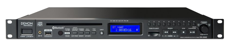 Rackmount Network Multimedia Player with Bluetooth and AM/FM Tuner
