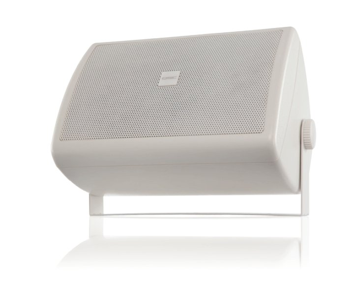 """QSC AC-S6T AcousticCoverage Series, Surface Speaker, 6"""", White AC-S6T-WH"""