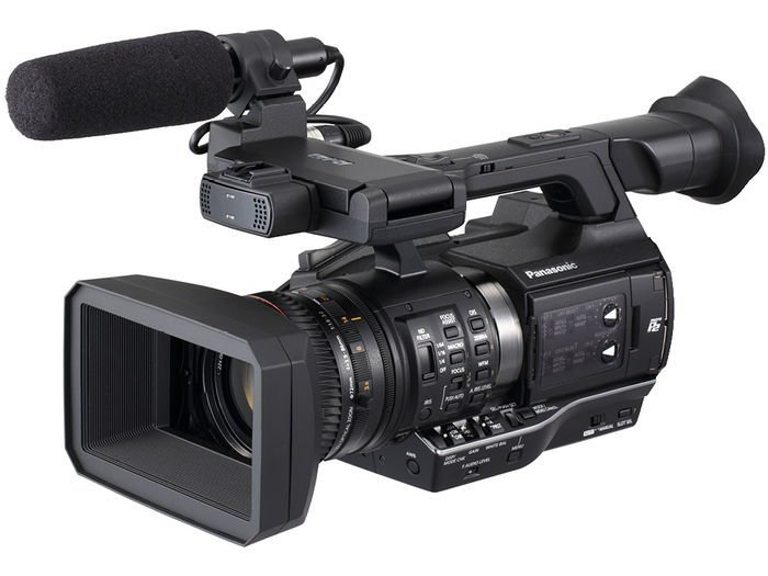 microP2 Handheld AVC-ULTRA HD Camcorder with 22x Zoom, in Black