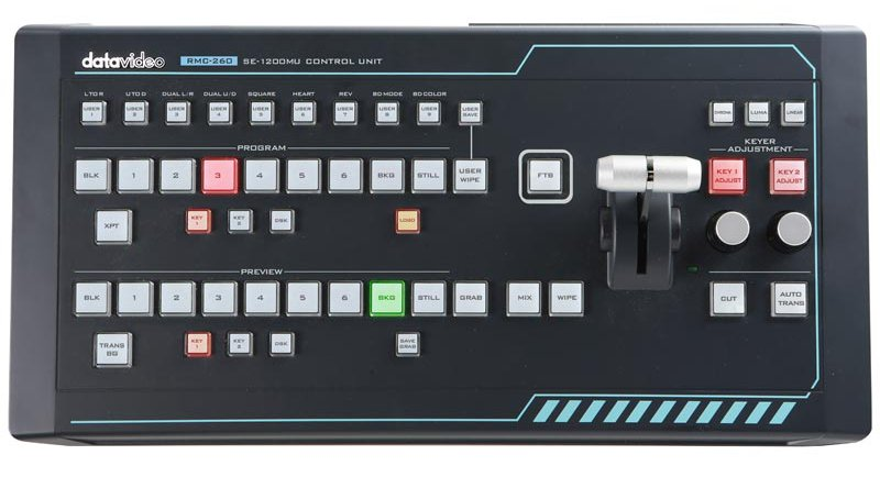 Remote Controller for SE-1200MU Digital Video Switcher