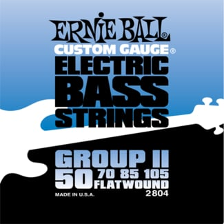 Group II Flatwound Bass Strings