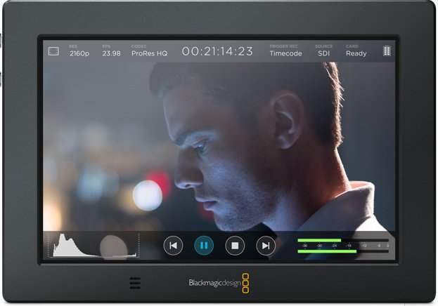 "7"" 4K Monitor with Onboard Video Recorder"