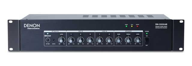 3 Mic And 2 Stereo Line Mixer Amp With Bluetooth Receiver
