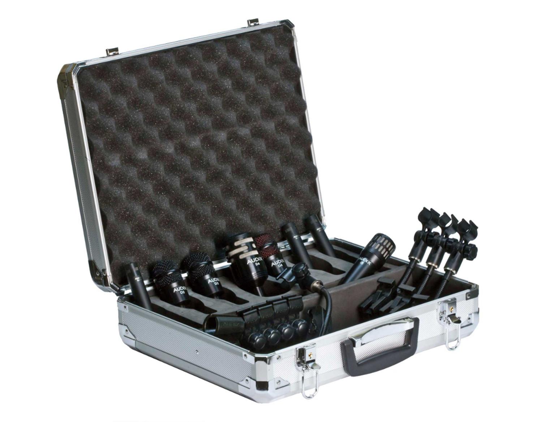 Drum Pack Elite 8 Microphone Packaged System