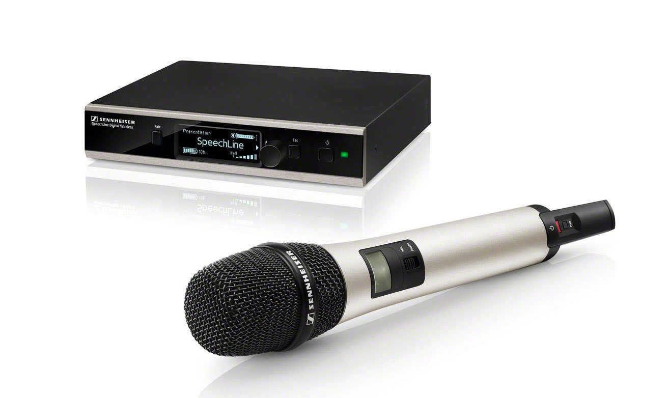 Wireless Handheld Microphone System With e865 And With Rackmount