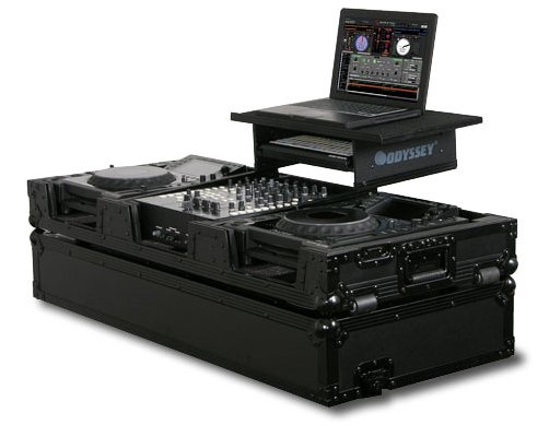 "Flight Zone Glide Style ATA Flight Case for 12"" Mixer, 2 Large Format CD/Digital Media Players +"