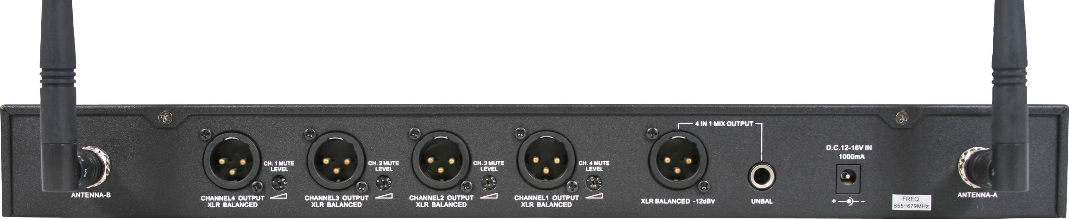 Four Channel Receiver