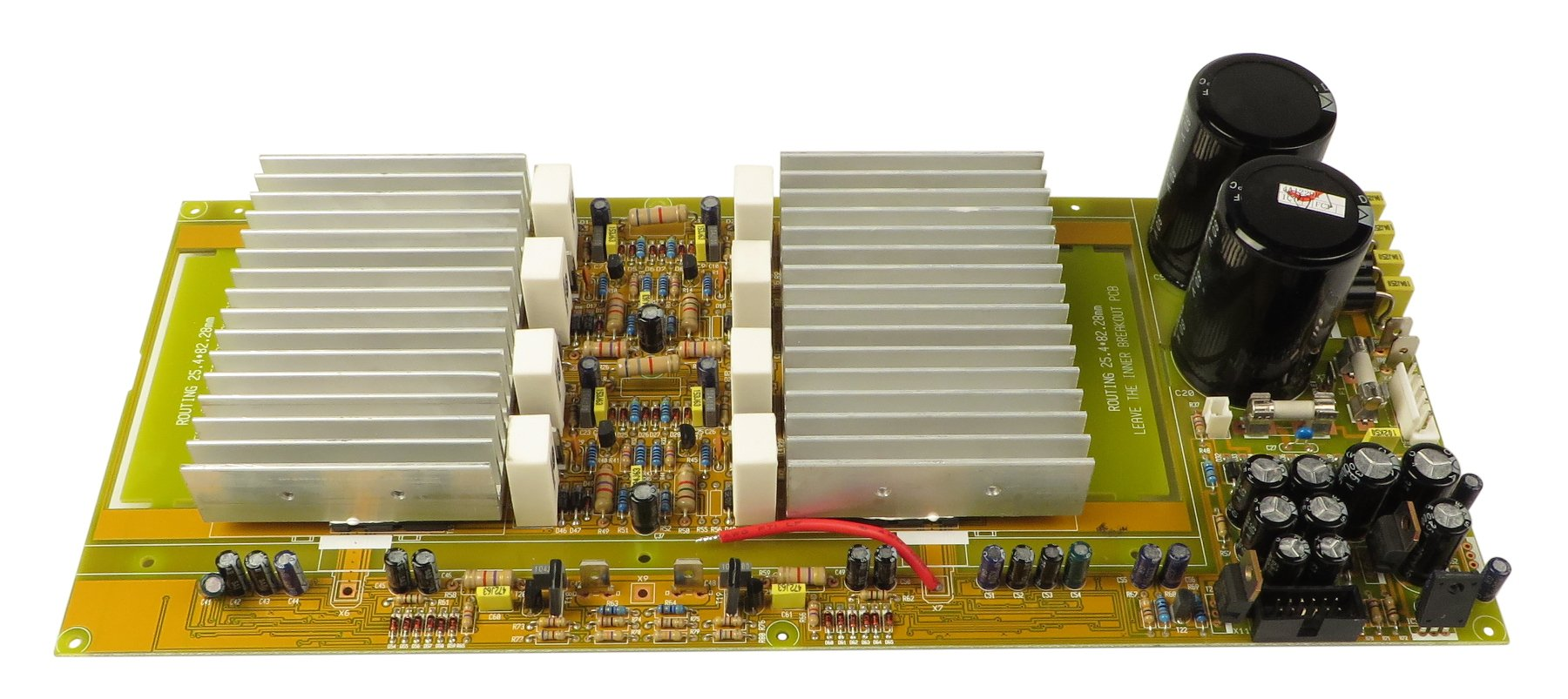 Amp PCB Assembly for PMP2000 and PMH2000