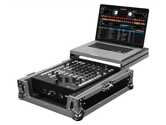 "Flight Zone Series Low Profile Glide Style 12"" Format DJ Mixer Case"