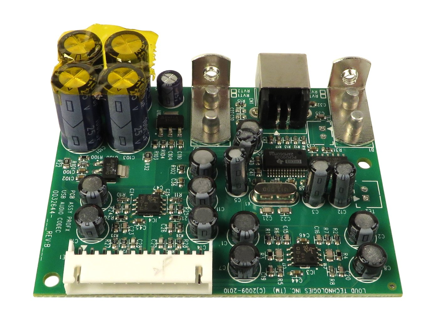 USB Audio Codec PCB Assembly for ProFX16 and ProFX22