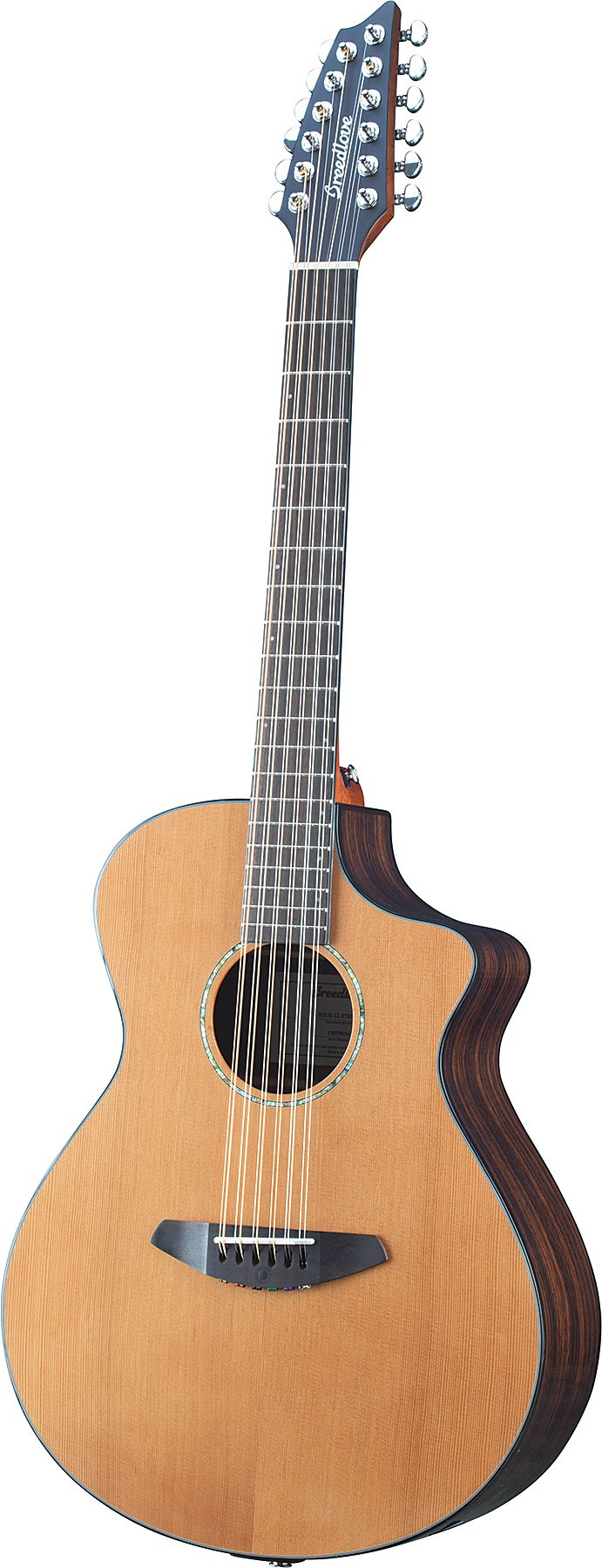 breedlove solo 12 string solo 12 string acoustic electric guitar full compass. Black Bedroom Furniture Sets. Home Design Ideas