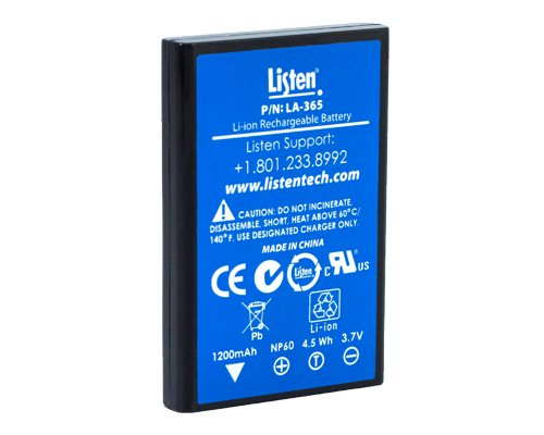 Replacement Rechargeable Li-Ion Battery for iDSP Receivers