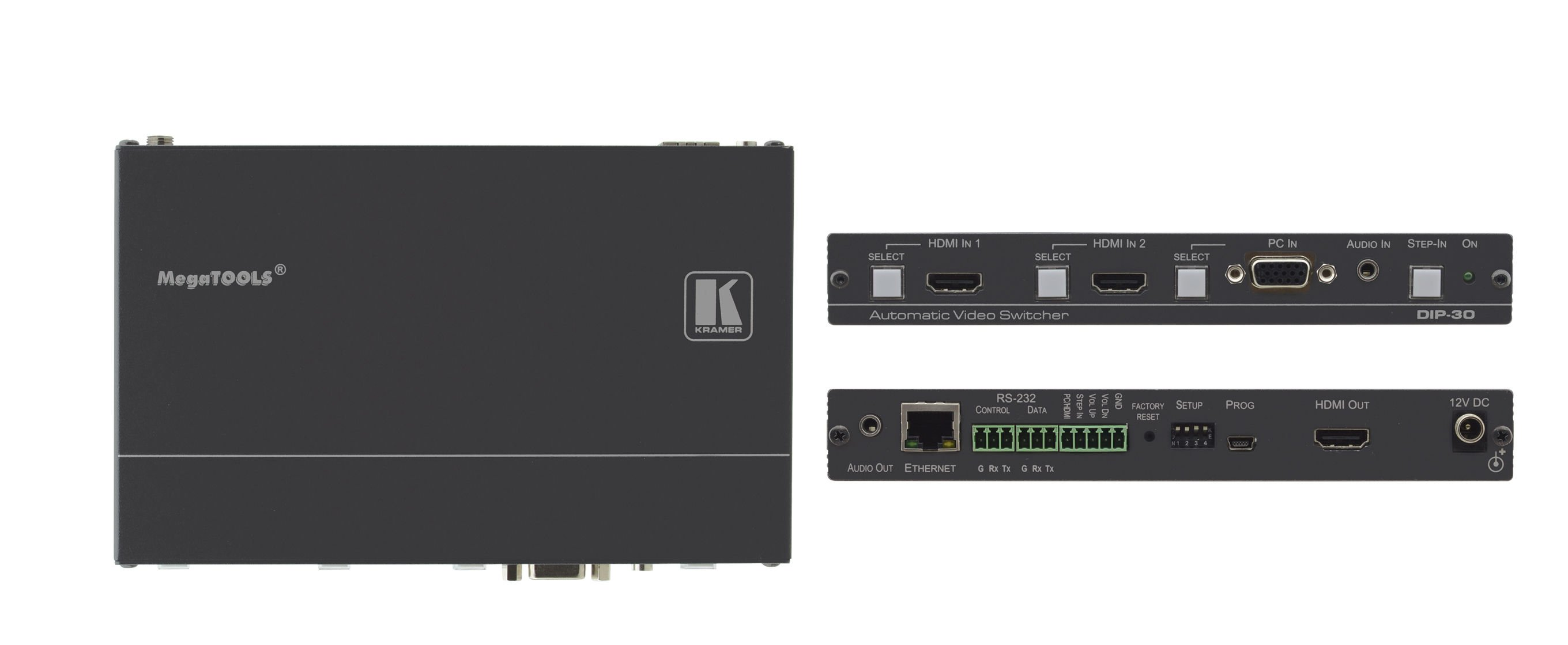 4K UHD HDMI & Computer Graphics Automatic Video Switcher
