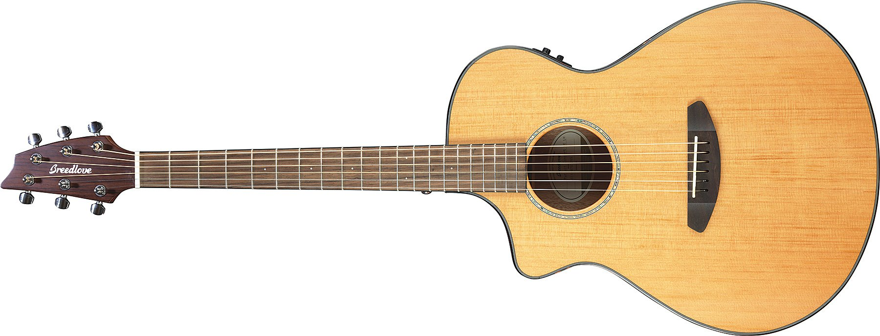 Left Handed Acoustic-Electric Guitar