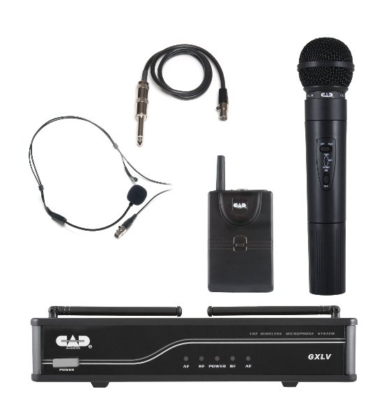 VHF Wireless Combo System- Handheld And Bodypack Microphone System, J Frequency Band