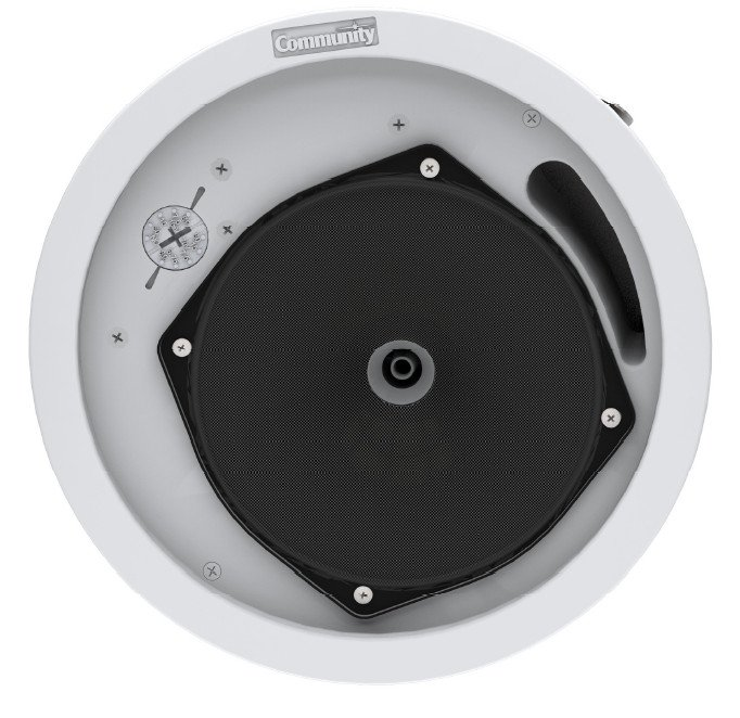 """Commercial Series 6.5"""" 2-Way 60 Watt Ceiling Speaker with 8 Ohm or 70V Operation"""