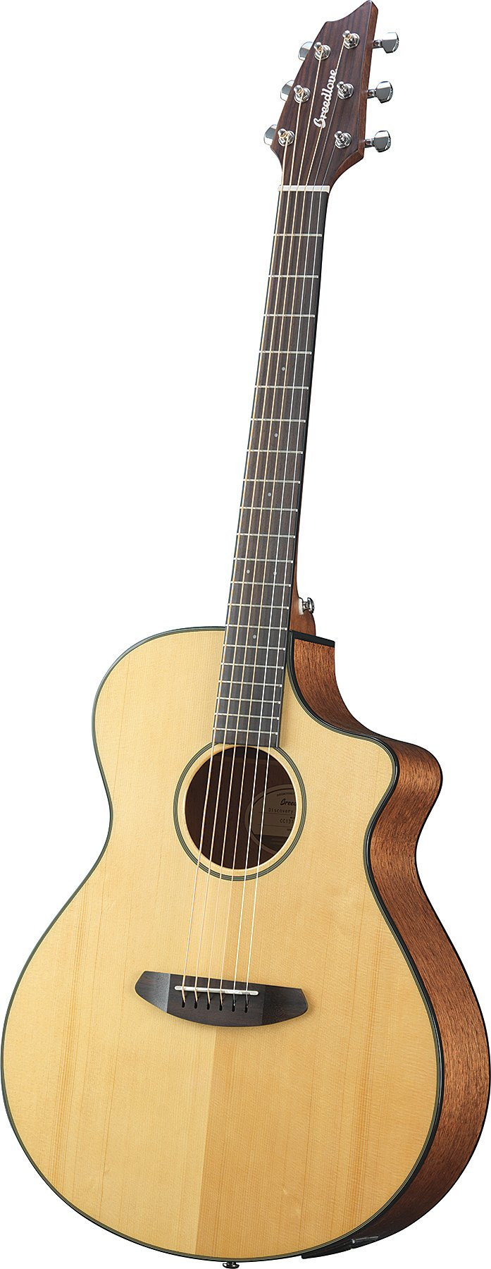 Acoustic-Cutaway Electric Guitar