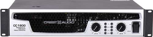Power Amplifier 450/700/900W @ 8/4/2 ohms Stereo
