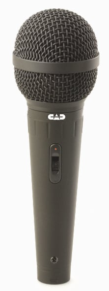 Cardioid Dynamic Microphone With On/Off Switch