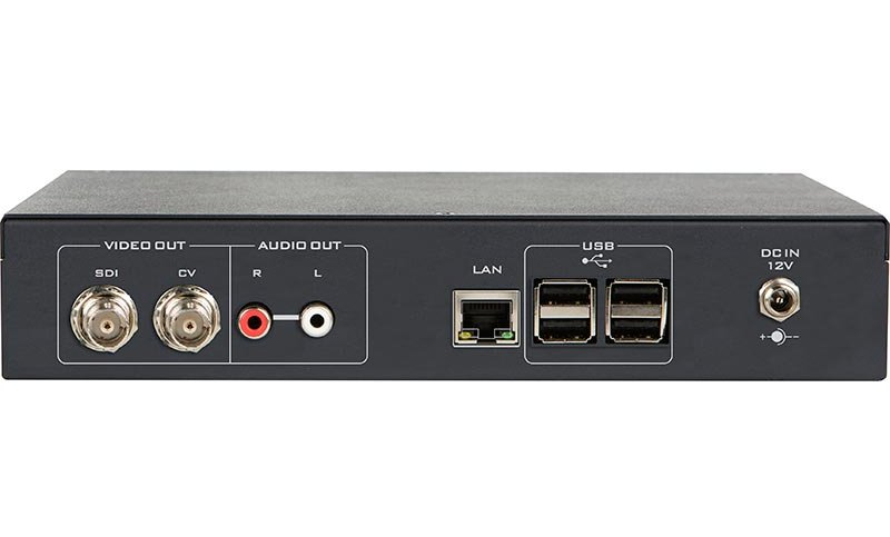 IP Video Decoder with HD-SDI & CV Outs