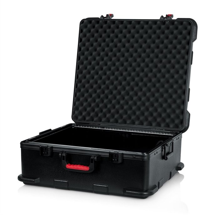 TSA Series ATA Mixer Case with 12RU Pop-Up Rack Rails