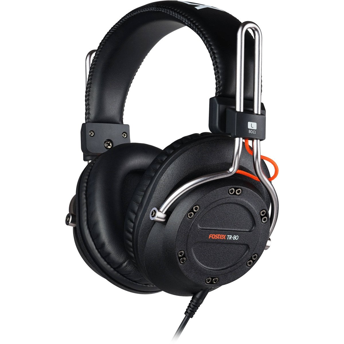 Closed Stereo Headphones, 80 Ohm