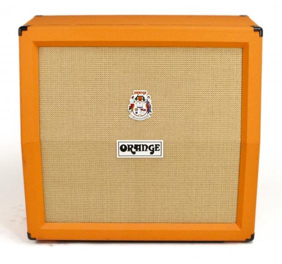 orange amplification ppc412ad angled 4 x12 guitar speaker cabinet full compass. Black Bedroom Furniture Sets. Home Design Ideas