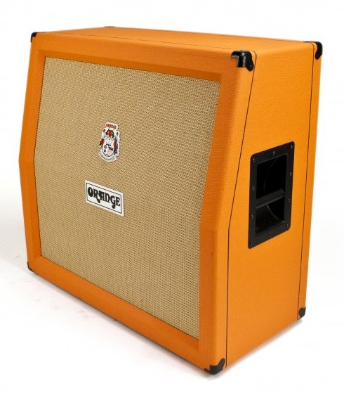 "Angled 4""x12"" Guitar Speaker Cabinet"