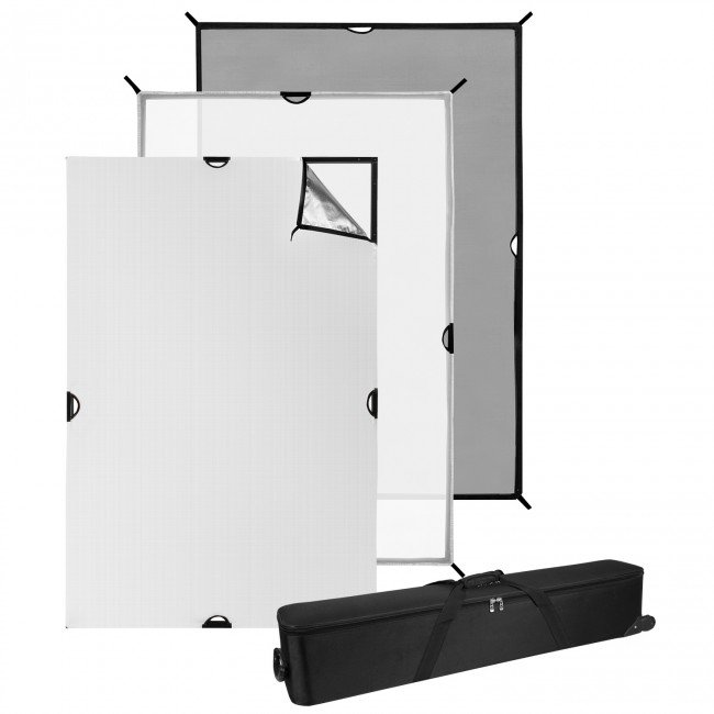4' x 6' Scrim Jim Cine Video Kit